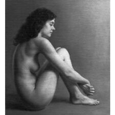 Small Oil Study of the Female Nude by Wheldon - NO RESERVE