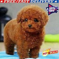 Realistic Teddy Dog Simulation Toy Dog Puppy Lifelike Stuffed Toy US AAA HOT