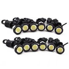 12pcs Car White 9w LED Eagle Eye Bumper DRL Fog Light Motorcycle Daytime Light