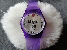 New Avon Quartz Ladies Watch - Time to Party, Eat, Shop