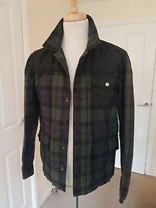 Heritage British Millerain handmade overwear coat size L