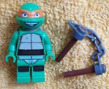Genuine Lego TMNT Michelangelo  Minifigure complete from 79100 tnt012