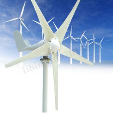 5 Blades Max 500W Wind Turbine Generator Kit Max AC 24V Option Aerogenerator US