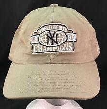 New York Yankees New Era 1999 World Series Champions Ball Cap Hat One Size