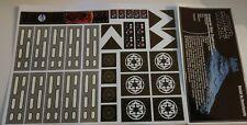 Star Wars Sticker for Lego® MOC-9018 ISD Doomhandle precut custom full not 10030