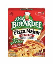 Chef Boyardee Pepperoni Pizza Maker Kit 31.85 Ounce (Pack of 6) Free Shipping
