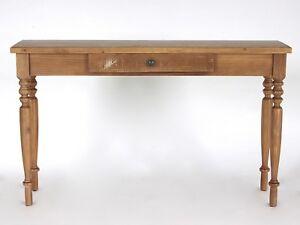 Konsolentisch Holz Landhaus Olinda Shabby Anrichte 130 x 35 Antik Schreibtisch