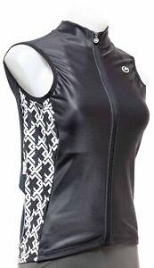 Assos UMA GT Spring Fall Vest Women MEDIUM Black Road Bike Cycling Gravel MTB