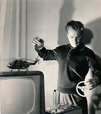 Chatalov (1927-) cosmonaute soviétique photo 1969 tirage argentique époque