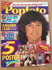 POPFOTO Nr.4/1979 AMANDA LEAR ,JURGEN DREWS...