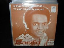 "BASILIO sueno cosas hermosas / te amo ( latin ) 7""/45 picture sleeve"