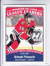 16/17 OPC Chicago Blackhawks Artemi Panarin League Leaders card #646