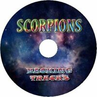 SCORPIONS GUITAR BACKING TRACKS CD BEST GREATEST HITS MUSIC PLAY ALONG ROCK