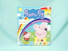 Panini Peppa Pig Wutz Sticker Alles was ich mag Sammelalbum Leeralbum