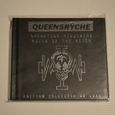 QUEENSRYCHE - Operation mindcrime/queen of the reich- 1999 2CDs LEATHER DIGIBOOK