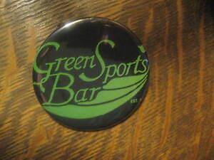 Greens Sports Bar Pin - Saloon San Francisco CA Polk Street Souvenir Logo Button