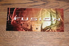 Federal Fusion Ammunition Window Decal - Static Adhesion, Vintage