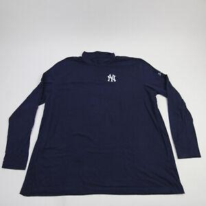 New York Yankees Under Armour HeatGear Pullover Men's Navy Used
