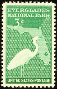 EBS USA 1947 - Everglades National Park Florida - 952 MNH**