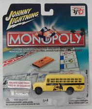 Johnny Lightning '56 Chevy School Bus Monopoly School Tax 70th Anniversary Token