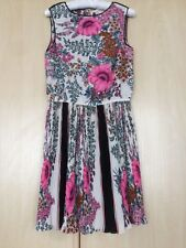 River Island Chelsea girl pink floral dress. Size 8