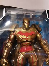 Batman HELLBAT GOLD Edition McFarlane DC Multiverse Action Figure In Hand