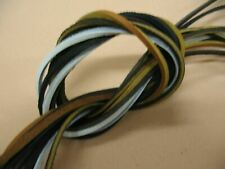 """1 Pair(2 Laces) Rawhide Leather Lace 72"""" X 1/8"""" Boat Shoelaces,Hiking Boot Laces"""