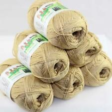 AIP Sale 6 Skeinsx50g Soft Bamboo Cotton Baby Wrap Hand Knitting Crochet Yarn 26