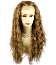 Wiwigs Sexy Lovely Lace Front wig Golden Strawberry Blonde mix Curly Long Wig UK