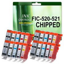 20 Compatible Ink For Canon PGI-520 CLI-521 iP3600 iP3680 iP4600 iP4680 iP4700