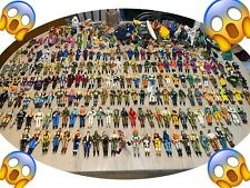Huge Lot of Vintage G I Joe Action Figures -190 Figures Plus Tons of accessories