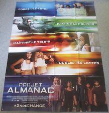 AFFICHE CINEMA 6746 - PROJET ALMANAC - FORMAT 120 / 160