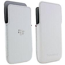 New original leather case white for BlackBerry Z30