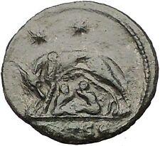 CONSTANTINE I Romulus Remus Wolf Rome Commemorative Ancient Roman Coin i57479