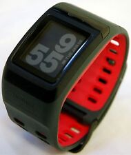 Nike+ Plus Gps Sport Watch Foot Pod Sensor Anthracite/Red TomTom fitness runner