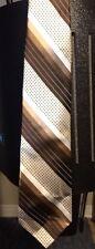 Yves saint laurent tie stripes with dots