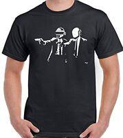 Pulp Fiction Daft Punk Parody - Mens Funny T-Shirt