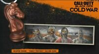 Call of Duty Black Ops Cold War ZOMBIE CALLING CARD AND PAWN WEAPON CHARM 🔥
