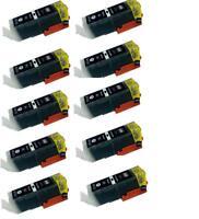 10 x generic PGI-650XL PGI650XL ink cartridges for Canon MG6660,MG5660,MX926