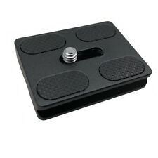 Quick Release Plate Replacement for PU-50. Fits B-00, B-0 Tripod Ball Heads