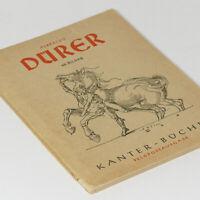 Albrecht Durer Photo Book 1939 w/60 pictures woodcuts engravings German Painter