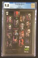 BATMAN THREE JOKERS #3 Comic 1:450 PREMIUM VARIANT CGC 9.8 +All 15 Fabok Covers