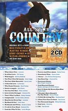 All-Star Country (2 Disc, 30 Country Hits) CD BRAND NEW at Musica Monette #236