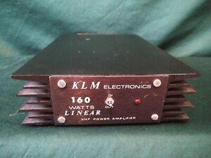KLM PA10-160BL VHF Amplifier - Ham Radio Amateur Radio
