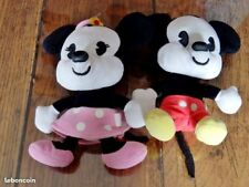 Peluches couple Mickey Minnie
