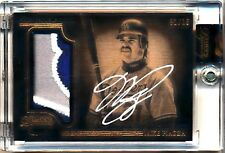 2014 Topps Dynasty #MP11 MIKE PIAZZA AUTOGRAPH PATCH Dodgers *RARE 1/10