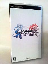 DISSIDIA FINAL FANTASY GIOCO USATO OTTIMO STATO SONY PSP EDIZIONE JAP VBC 52817
