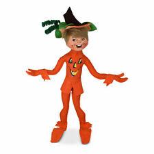 Annalee Dolls 2021 Halloween 14in Jack-o-lantern Elf Plush New with Tag