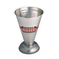 Kaiser Messbecher Metall 500ml Patisserie