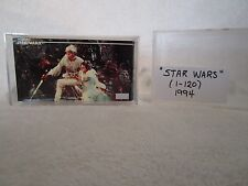 "TOPPS WIDEVISION ""STAR WARS"" COLLECTOR CARDS COMPLETE SET #1-120 1994"
